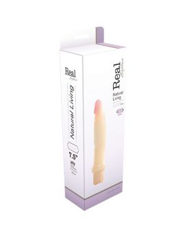 Реалистичный вибратор REALISTIC VIBRATOR REAL RAPTURE TSUNAMI JELLY - 18,5 см.